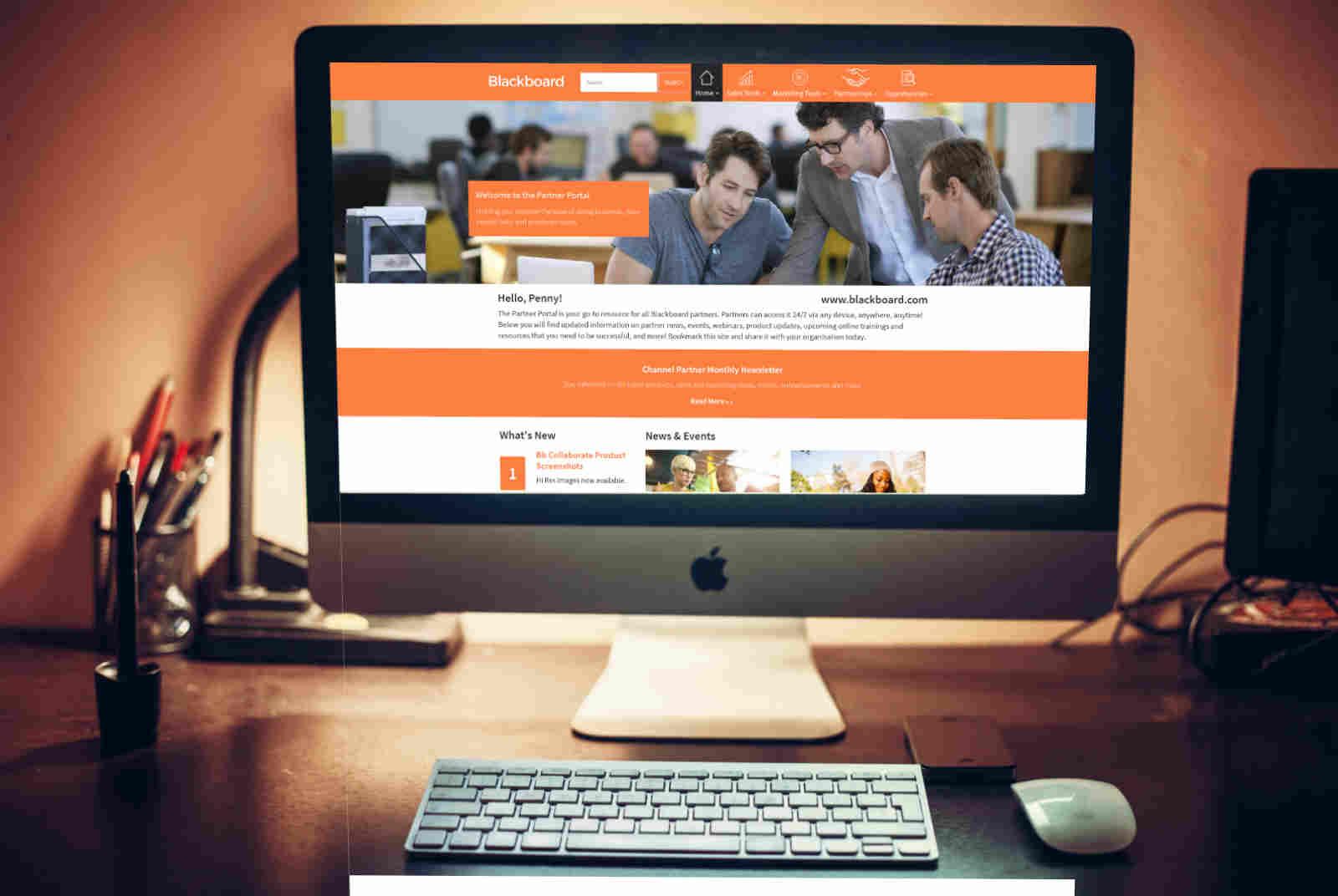 Blackboard partner portal