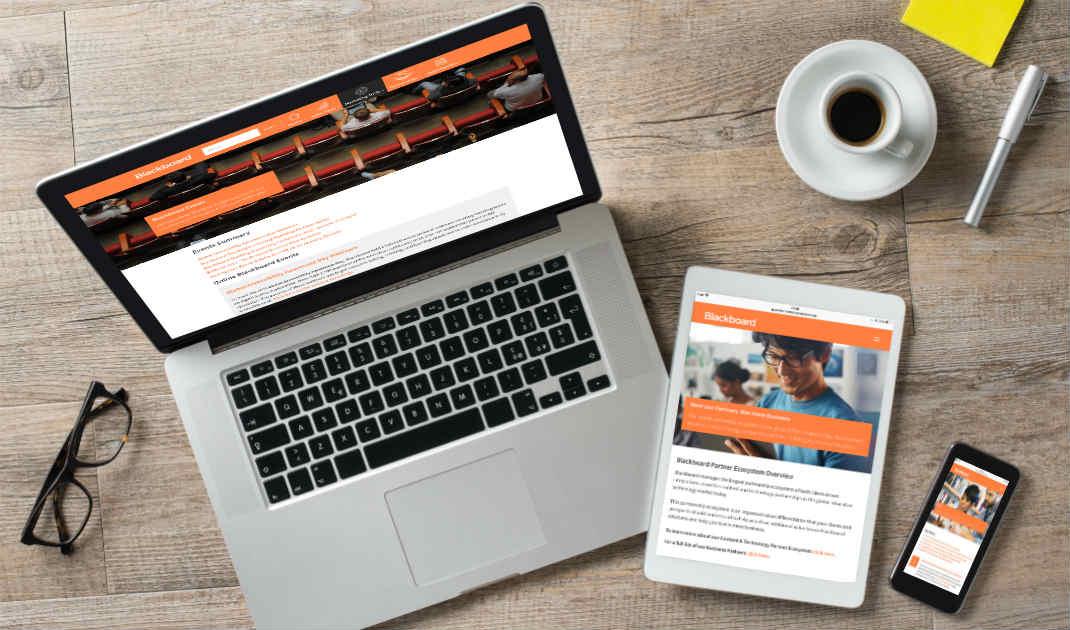 Partner portal - responsive design
