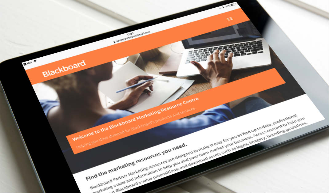 Partner portal - marketing resources