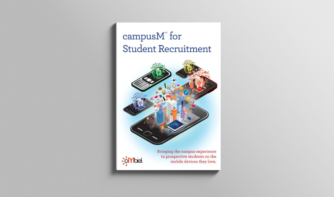 campusM for student recruitment
