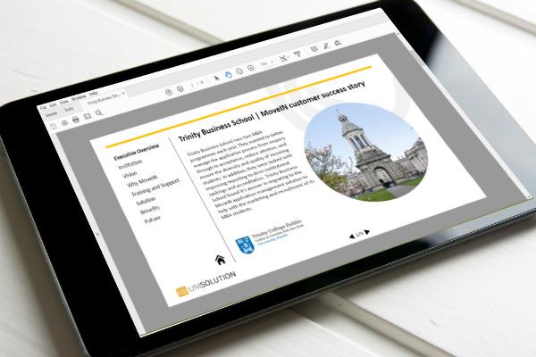 Trinity Business School MoveIN case study